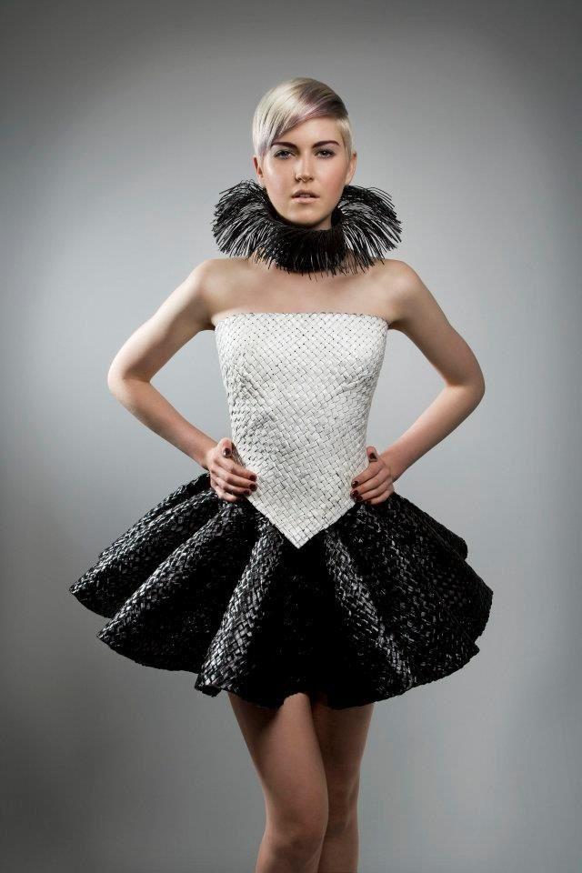 Flax Creation by Amazing New Zealand Designer Shona Tawhiao.