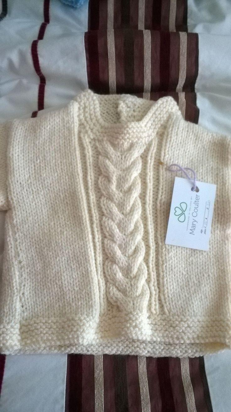 Aran sweater age 3-4 years£18+p&p