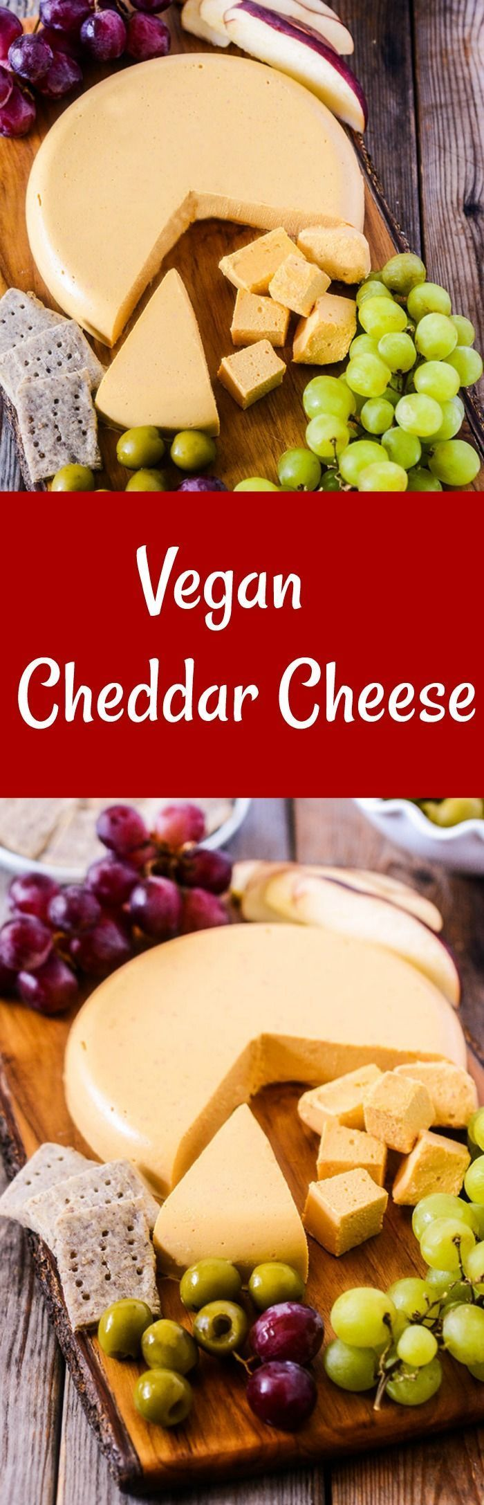 Vegan Cheddar Cheese Smooth, creamy and flavorful