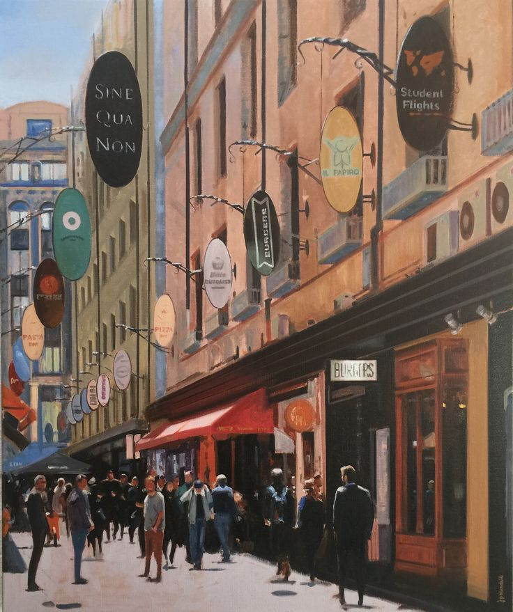 "SOLD ""Degraves Street' by Joe Blundell"