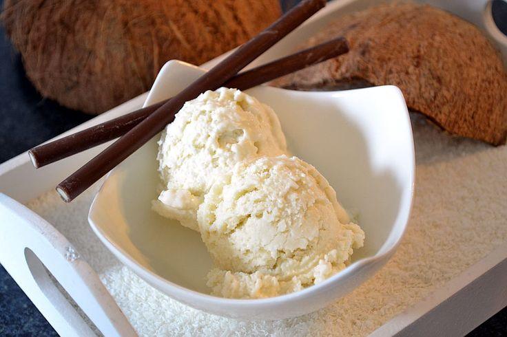 Kokoseis Rezept (Kokosmilch) - von Eisrezepte.net