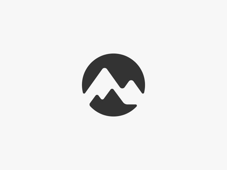 Mountain Range Logo Design by Dalius Stuoka