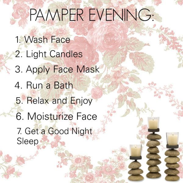 """Pamper Evening"" by emilycarriebrowne on Polyvore"
