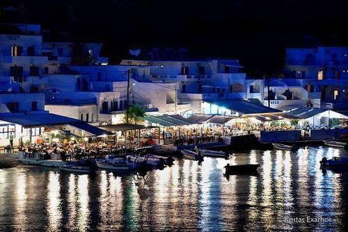 Όμορφες καλοκαιρινές νύχτες στον μικρό παράδεισο του Λουτρού Σφακιών  Beautiful summer nights at the small paradise of Loutro in Sfakia, Southern Chania  photo by Kostas Exarhos