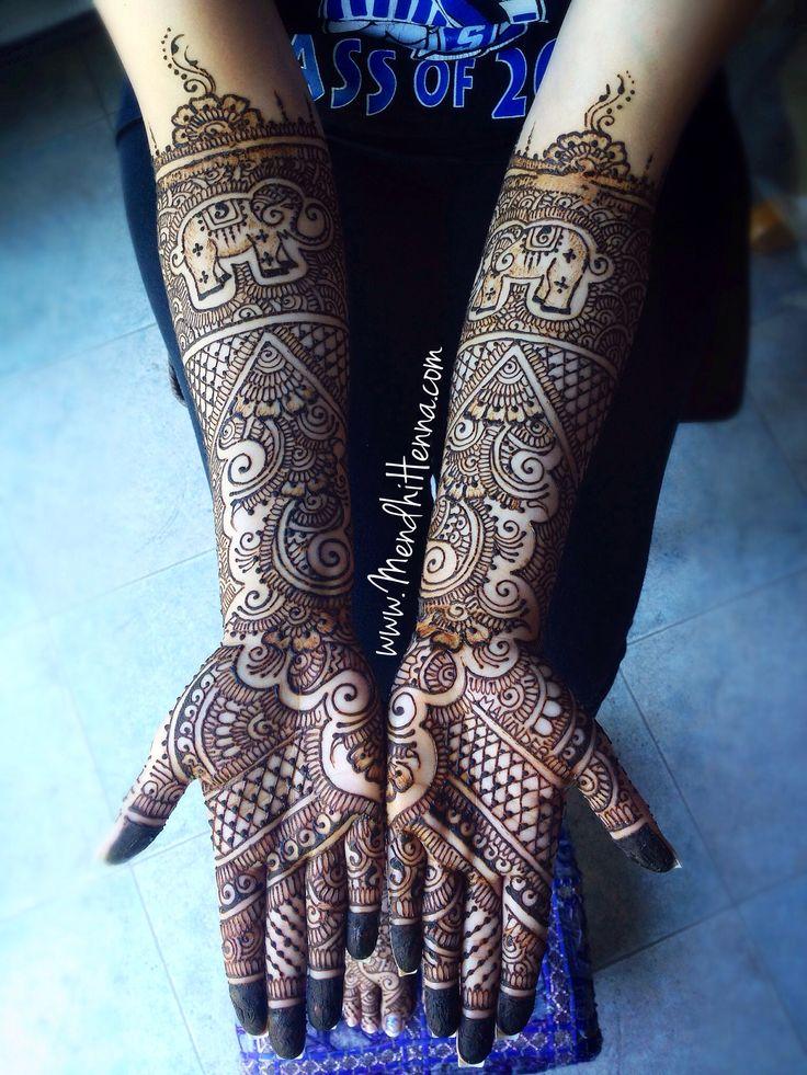 Modern Bridal Mehndi Designs : Best aesthetic modern henna art mehndi designs in