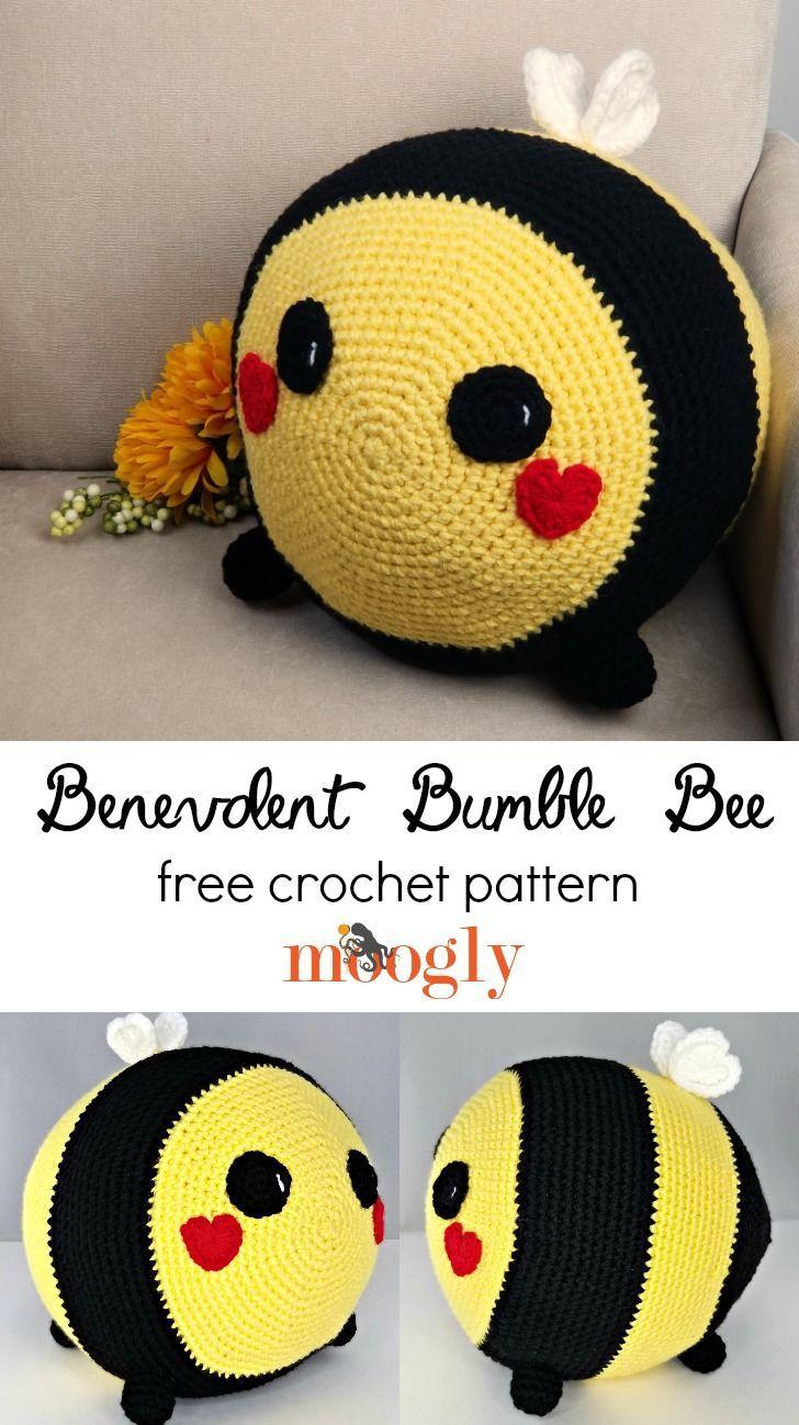 benevolent bumble bee free crochet