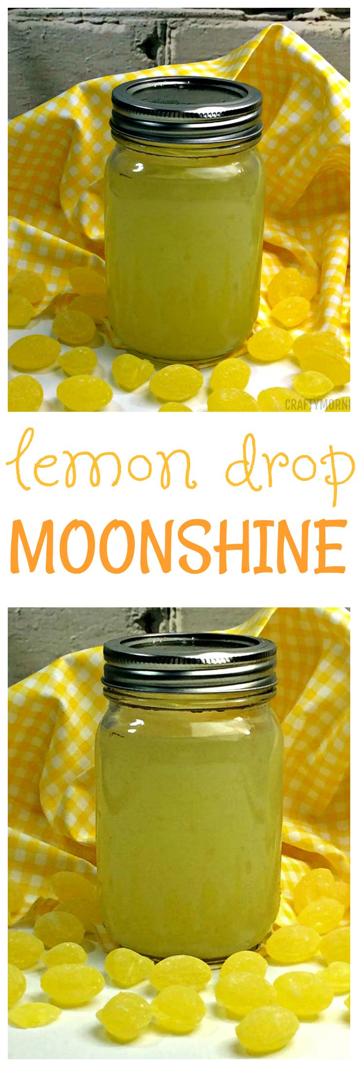 Lemon drop moonshine recipe...so good for summer BBQs!