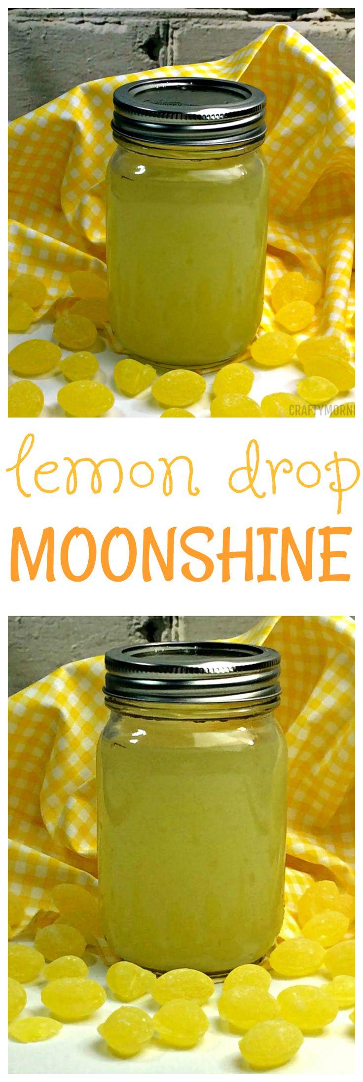 Lemon drop moonshine recipe...so good for summer BBQs!