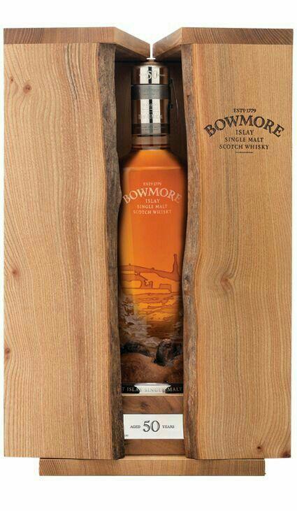 Bowmore 50 year old Islay single malt Scotch Whisky