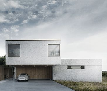BAKS ARKITEKTER - Infinity House, Denmark. Nordic architecture, house, design, scandinavian, texture, brick, wood, minimalistic, danish, nature, living, garage,