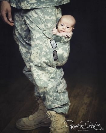 Military dad: Cutest Baby, Photo Ideas, Newborns Photo, Military Baby, Pockets, Baby Pictures, Baby Photo, Military Families, So Sweet
