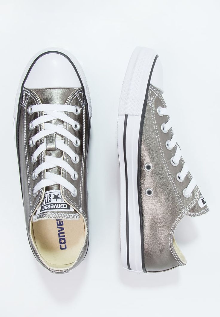 Converse CHUCK TAYLOR ALL STAR - Sneaker low - metallic herbal/white/black - Zalando.de