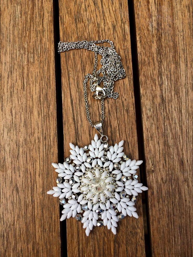 Ciondolo Snowflake