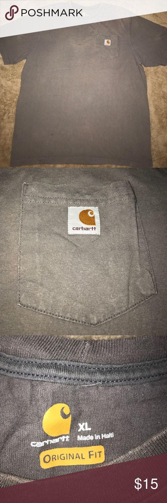 ❗️Carhartt Work Shirt Xl-front pocket Carhartt Shirts Tees - Short Sleeve