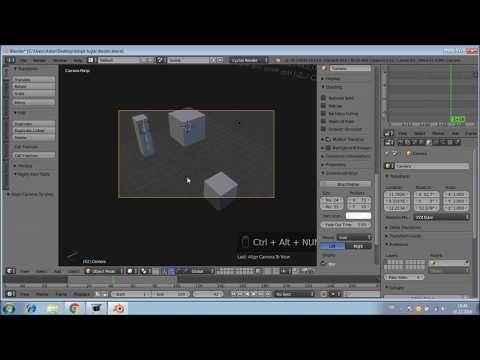 Blender3D 6 Birleşik Tuşlar2 - YouTube