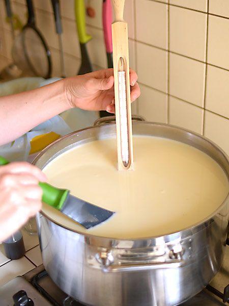Ser dojrzewający podpuszczkowy - lepszy niż ser koryciński :) - etap 1