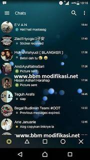 BBM Transparant Yellow Mod Apk Update Terbaru