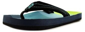 Reef Ahi Youth Us 13 Blue Flip Flop Sandal.