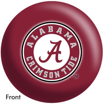 University of Alabama Bowling Ball. #bowlingball