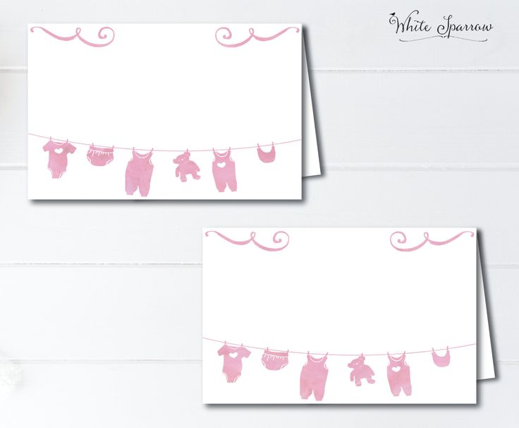 Baby Shower Food Tent Cards. Baby shower, Place cards. Girl Baby Shower Decorations. Pink Baby Shower. Watercolor Baby Shower. Food labels by WhiteSparrowPrints on Etsy