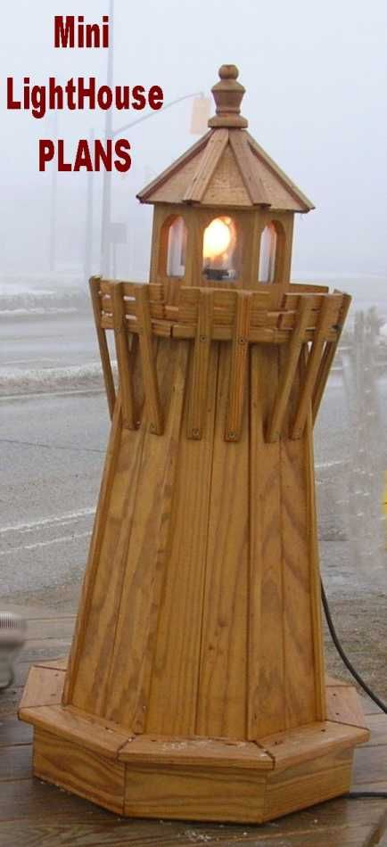 Lighthouse - Woodworking Plans, Wood Projects and Adirondack
