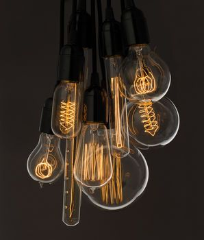 For dining table? Vintage Light Bulb
