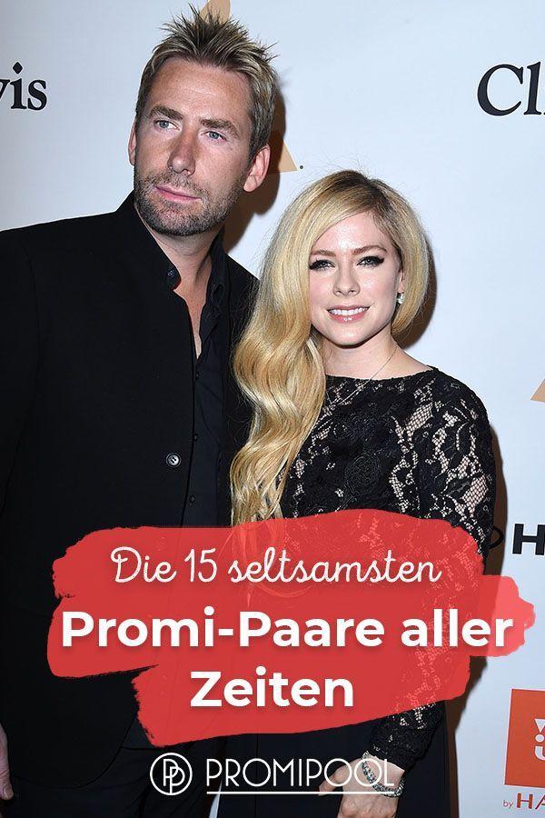 Die 15 Seltsamsten Promi Paare Aller Zeiten Parchen Avril Lavigne Beruhmte Paare