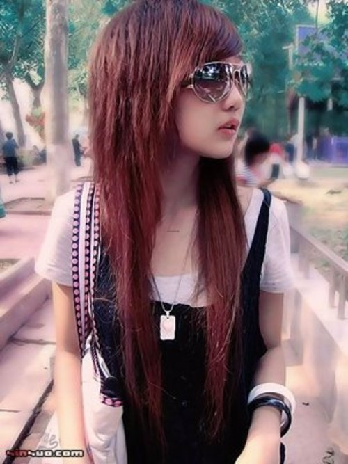 Excellent Korean Hairstyles Hairstyles And Style On Pinterest Hairstyles For Women Draintrainus