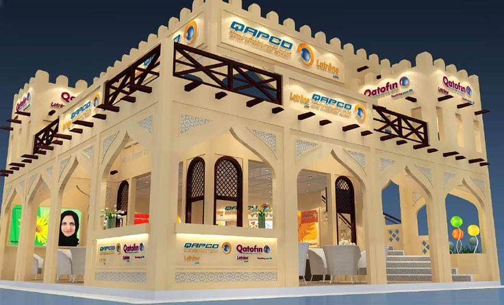 Double Deck Castle Stand Exhibition Design Ideas