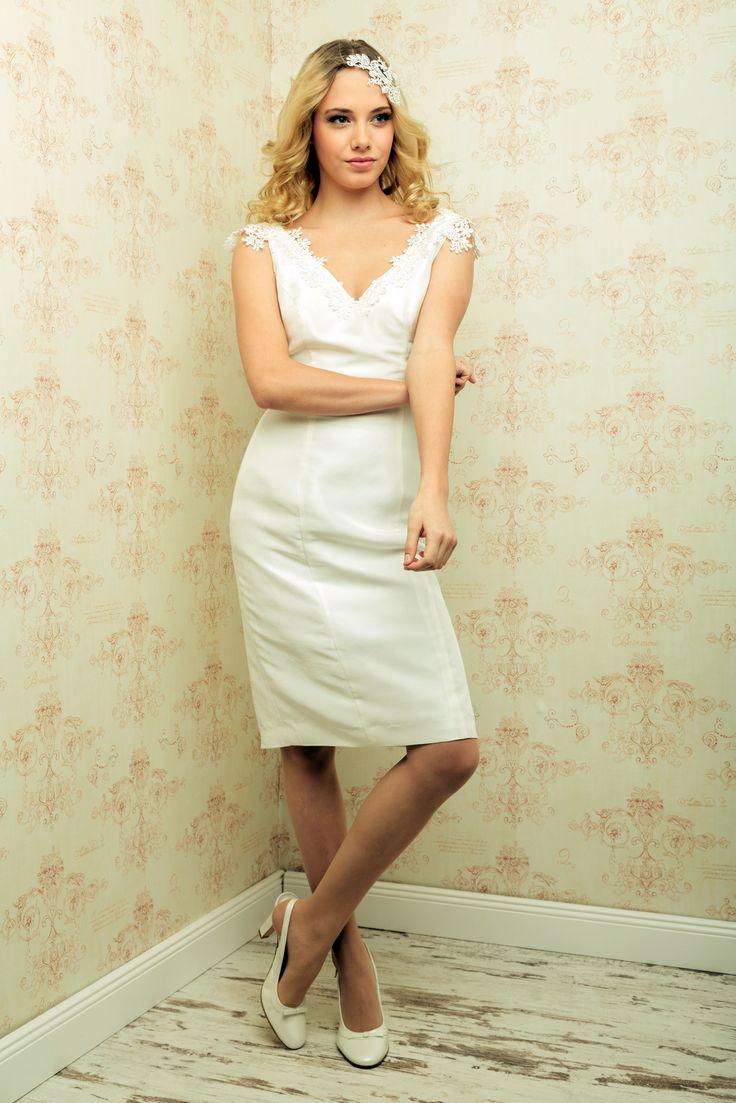 """""""Marisol"""" Kleid von Marin Miller in ivory"""