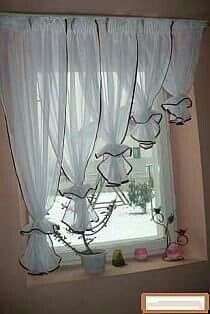 Great curtain design!