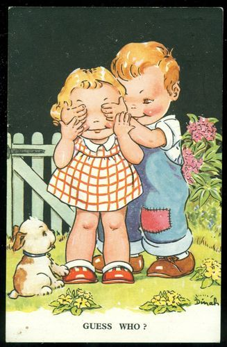 illustr.quenalbertini: Vintage Dinah postcard | eBay