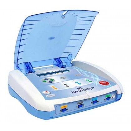 Neurodyn es un estimulador transcutáneo neuromuscular utilizado en las terapias por corrientes.