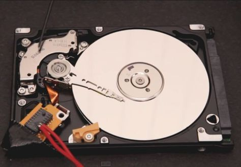 Did you know that your hard disk drive can be used as a speaker?