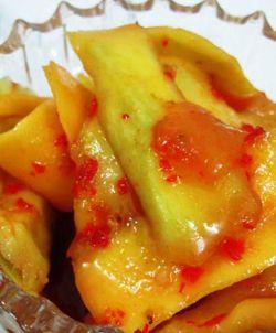 [Resep] Manisan Mangga Pedas http://www.perutgendut.com/read/manisan-mangga-pedas/2544 #Resep #Food #Kuliner #Indonesia