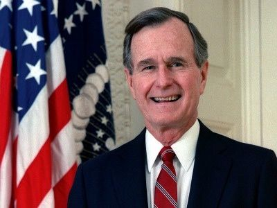 The super-interesting reason President Bush resigned membership from the NRA two decades ago.