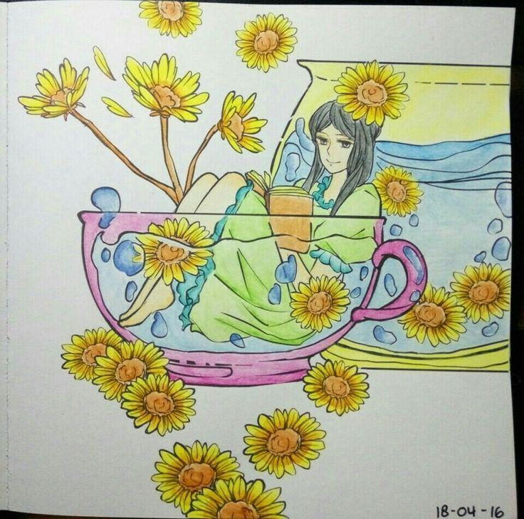 #coloringbookforadults #wanderingcolors #tabrakwarna #colorful #beautifulcolor #92