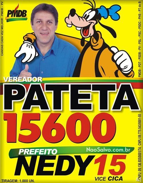 Pateta é o filho do Pluto