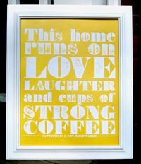 Ain't that the Truth: coffee poster