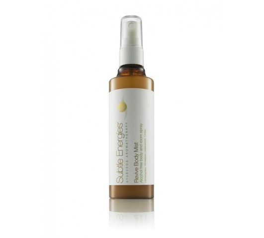 Revive Body& Room Mist - ideal to kickstart your day, with lemongrass and Himalayan cedarwood to uplift the spirits, boost energy and add hydration to the skin.  http://www.subtleenergies.com.au/index.php/shop/scents-for-senses/body-room-mists/revive-mist.html