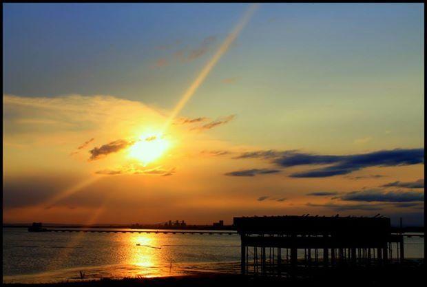 Sunset Mozambique Sunset Moment the sun bids us fairwell