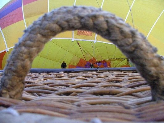 Canberra times readers Winter photocomp 2014- Malcolm Ford- Balloon hoop.