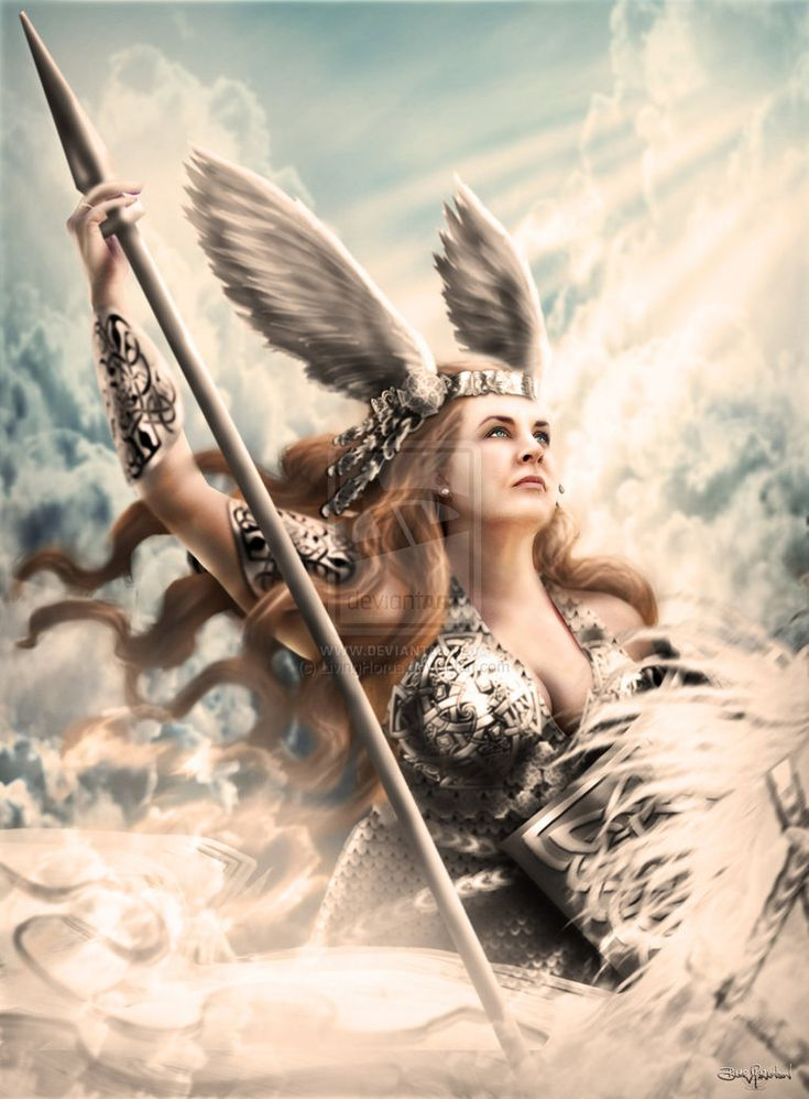 valkyries bring chosen to valhalla accompanied by ravens swans or horses potential tattoo. Black Bedroom Furniture Sets. Home Design Ideas