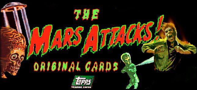 Mars Attacks trading card