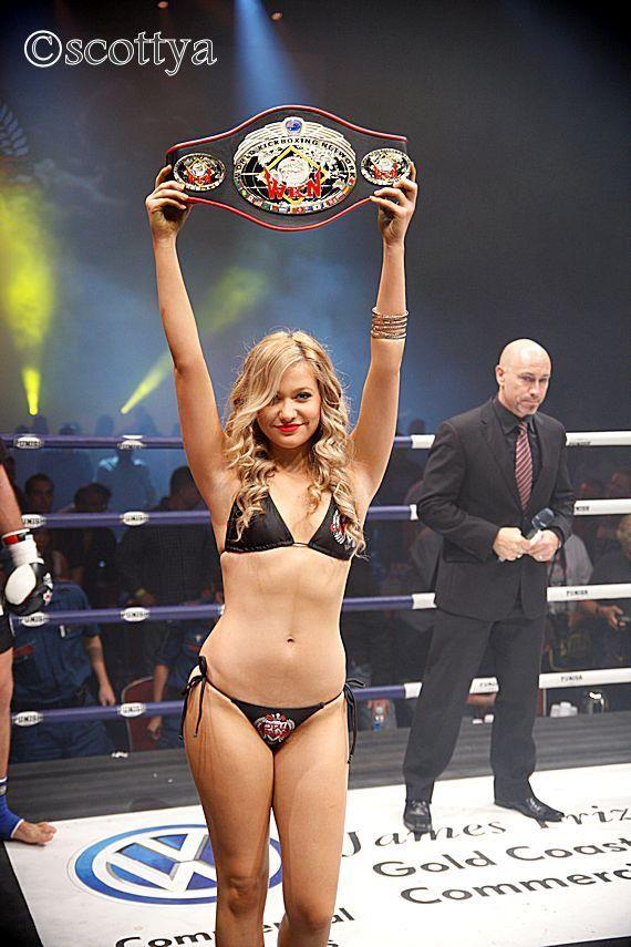 The WKN World Title belt