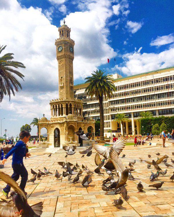 İzmir Saat Kulesi Fotoğrafı gönderen: İsa Efe