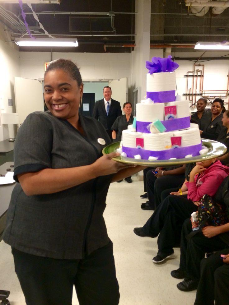 Gag Gift Prize During Housekeeping Appreciation Week