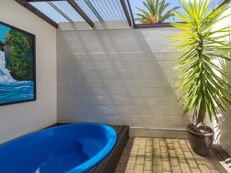 Personal courtyards in every room.