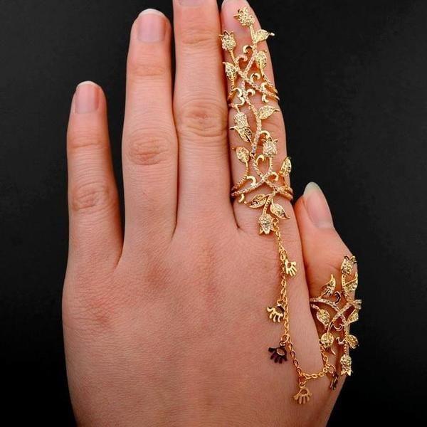 Best 25+ Full finger rings ideas on Pinterest | Big rings ...