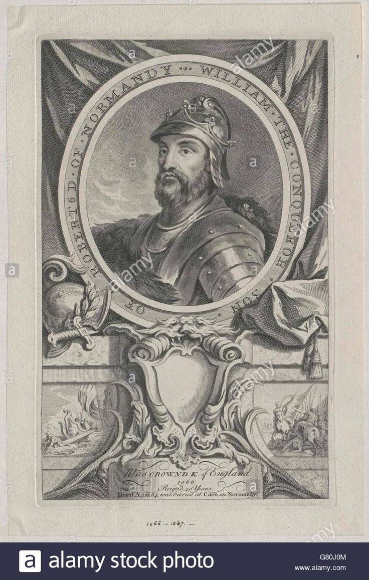 Download this stock image: Wilhelm I., der Eroberer König von England - G80J0M from Alamy's library of millions of high resolution stock photos, illustrations and vectors.